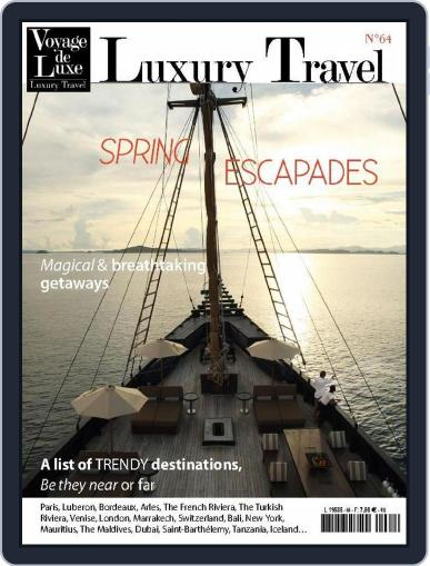 Luxury Travel (Digital) May 7th, 2015 Issue Cover