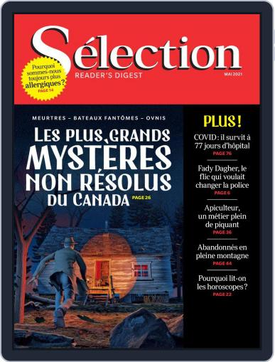 Sélection du Reader's Digest Magazine (Digital) May 1st, 2021 Issue Cover