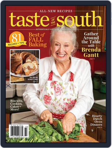 Taste of the South Magazine (Digital) October 1st, 2021 Issue Cover