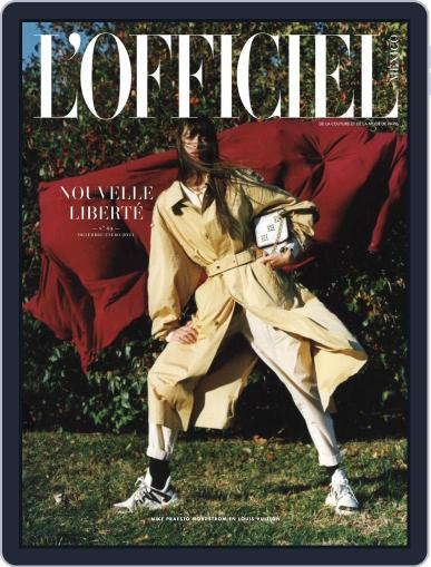 L'Officiel Mexico Magazine (Digital) December 1st, 2020 Issue Cover