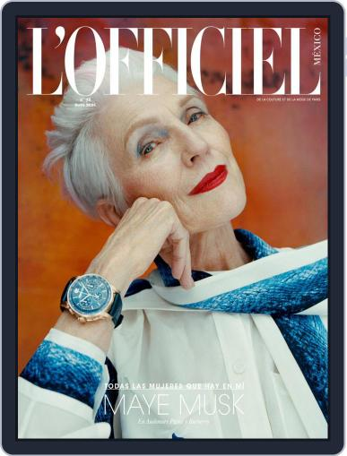 L'Officiel Mexico Magazine (Digital) May 1st, 2021 Issue Cover
