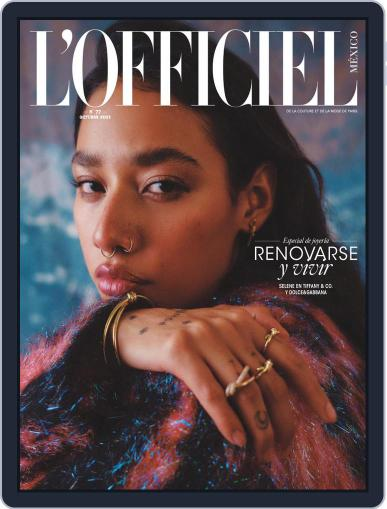 L'Officiel Mexico Magazine (Digital) October 1st, 2021 Issue Cover