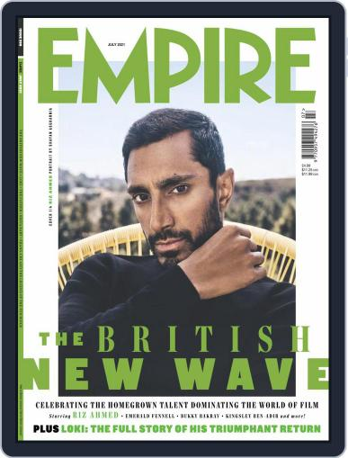 Empire Magazine (Digital) July 1st, 2021 Issue Cover
