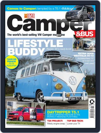 VW Camper & Bus Magazine (Digital) August 1st, 2021 Issue Cover