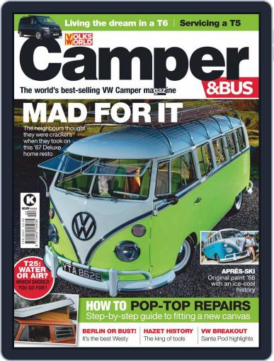 VW Camper & Bus Magazine (Digital) February 1st, 2021 Issue Cover