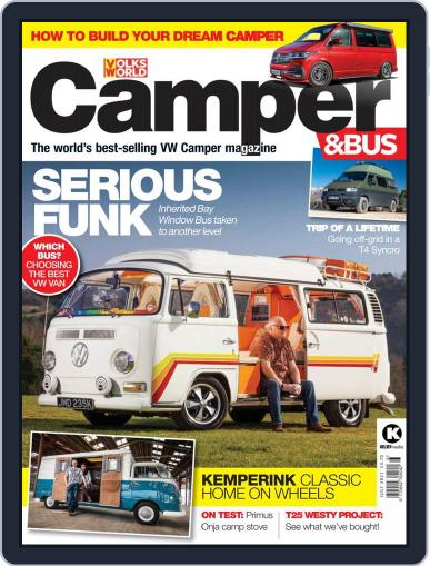VW Camper & Bus Magazine (Digital) July 1st, 2021 Issue Cover