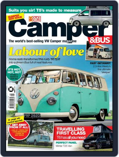 VW Camper & Bus Magazine (Digital) May 1st, 2021 Issue Cover