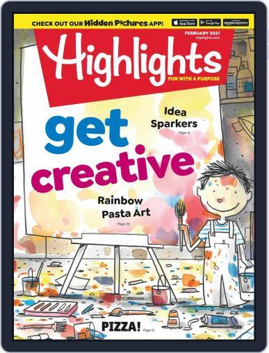Highlights for Children Magazine (Digital) February 1st, 2021 Issue Cover