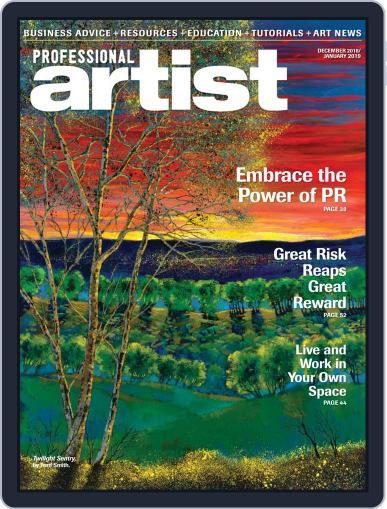 Professional Artist (Digital) December 1st, 2018 Issue Cover