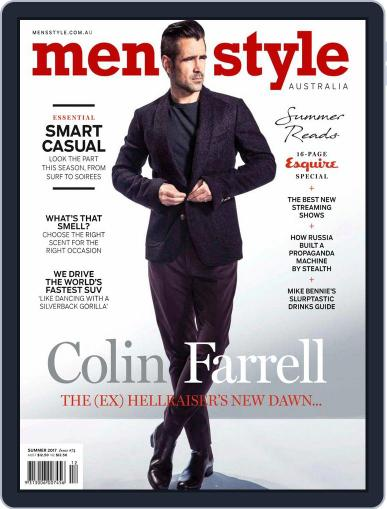 Men's Style Australia (Digital) October 1st, 2017 Issue Cover