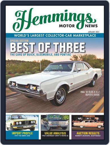 Hemmings Motor News Magazine (Digital) January 1st, 2021 Issue Cover
