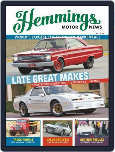 Hemmings Motor News Magazine (Digital) July 1st, 2021 Issue Cover