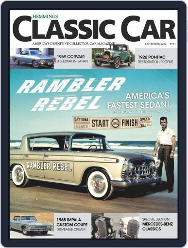 Hemmings Classic Car Magazine (Digital) November 1st, 2020 Issue Cover