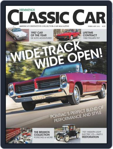 Hemmings Classic Car Magazine (Digital) February 1st, 2021 Issue Cover
