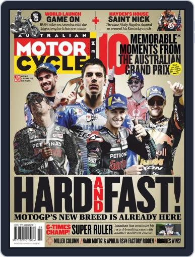 Australian Motorcycle News Magazine (Digital) October 22nd, 2020 Issue Cover
