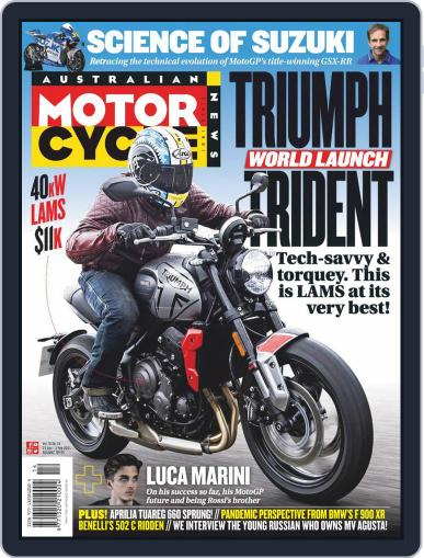Australian Motorcycle News Magazine (Digital) January 21st, 2021 Issue Cover