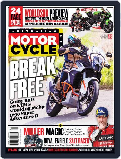 Australian Motorcycle News Magazine (Digital) May 13th, 2021 Issue Cover