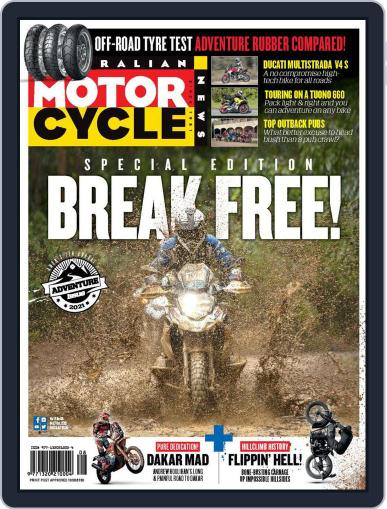 Australian Motorcycle News Magazine (Digital) October 14th, 2021 Issue Cover