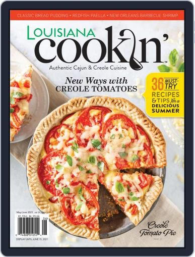 Louisiana Cookin' Magazine (Digital) May 1st, 2021 Issue Cover