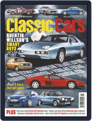 Classic Cars Magazine (Digital) March 17th, 2021 Issue Cover