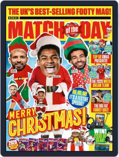 Match Of The Day Magazine (Digital) November 24th, 2020 Issue Cover