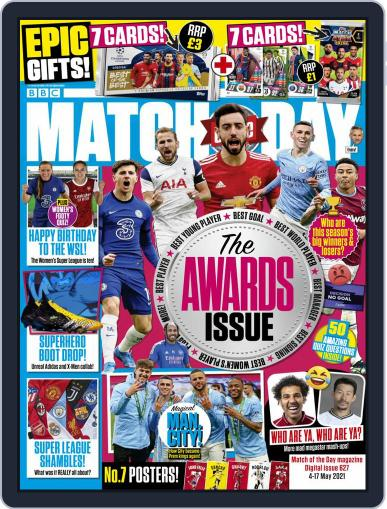 Match Of The Day Magazine (Digital) May 4th, 2021 Issue Cover