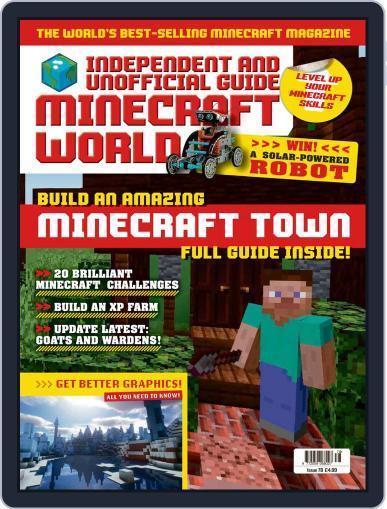 Minecraft World Magazine (Digital) April 15th, 2021 Issue Cover