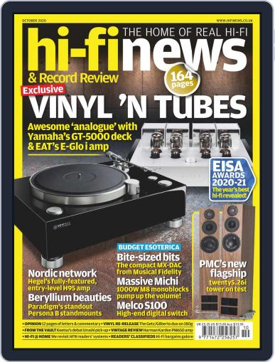 Hi Fi News Magazine (Digital) October 1st, 2020 Issue Cover
