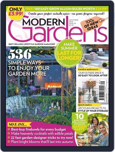 Modern Gardens Magazine (Digital) September 1st, 2020 Issue Cover