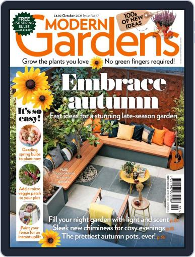 Modern Gardens Magazine (Digital) October 1st, 2021 Issue Cover