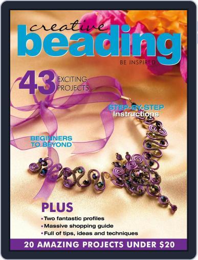 Creative Beading Magazine (Digital) October 1st, 2020 Issue Cover