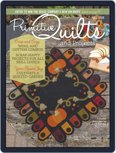Primitive Quilts And Projects Magazine (Digital) July 13th, 2020 Issue Cover