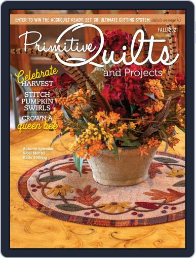 Primitive Quilts And Projects Magazine (Digital) July 15th, 2021 Issue Cover