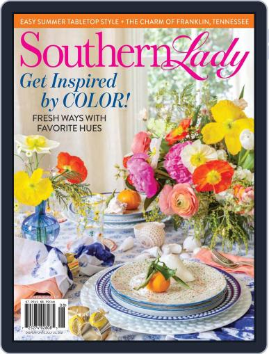 Southern Lady Magazine (Digital) July 1st, 2021 Issue Cover
