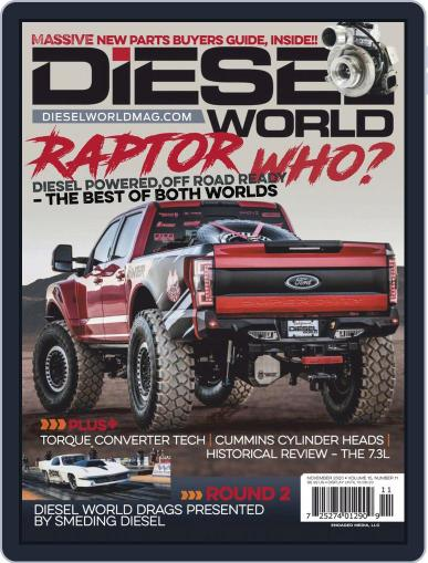 Diesel World Magazine (Digital) November 1st, 2020 Issue Cover