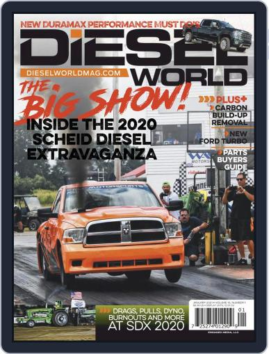 Diesel World Magazine (Digital) January 1st, 2021 Issue Cover