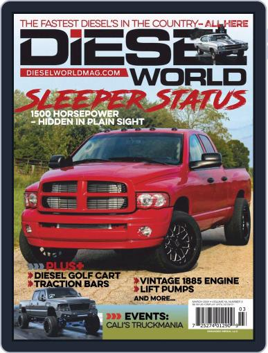 Diesel World Magazine (Digital) March 1st, 2021 Issue Cover