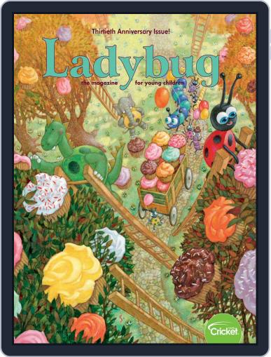 Ladybug Stories, Poems, And Songs Magazine For Young Kids And Children Magazine (Digital) September 1st, 2020 Issue Cover