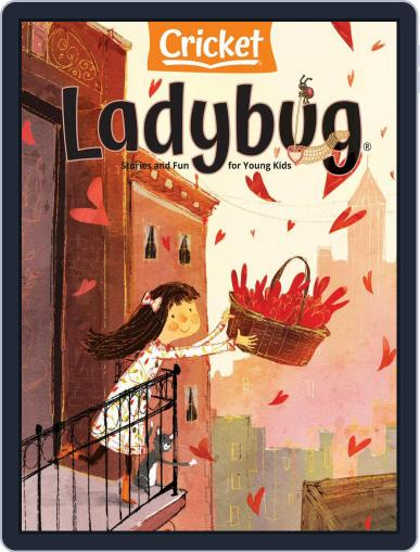 Ladybug Stories, Poems, And Songs Magazine For Young Kids And Children Magazine (Digital) February 1st, 2021 Issue Cover
