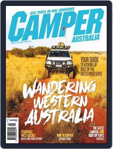 Camper Trailer Australia Magazine (Digital) September 1st, 2020 Issue Cover