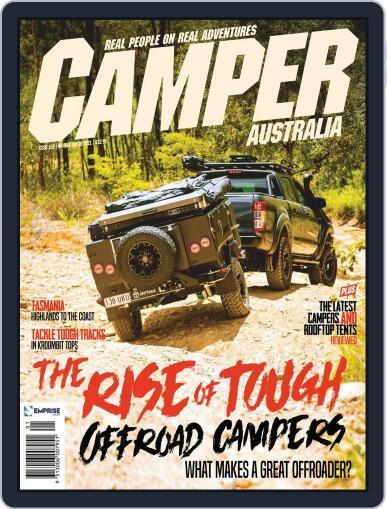 Camper Trailer Australia Magazine (Digital) January 1st, 2021 Issue Cover