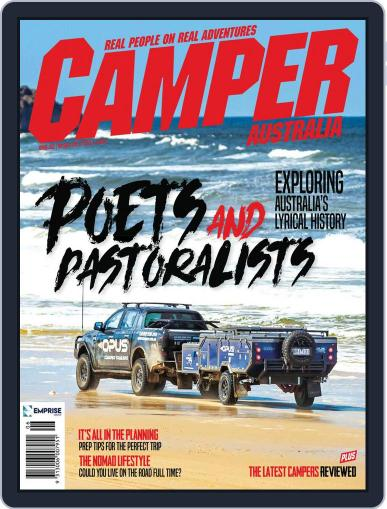 Camper Trailer Australia Magazine (Digital) June 1st, 2021 Issue Cover