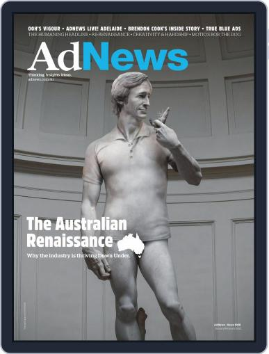 AdNews Magazine (Digital) January 1st, 2021 Issue Cover