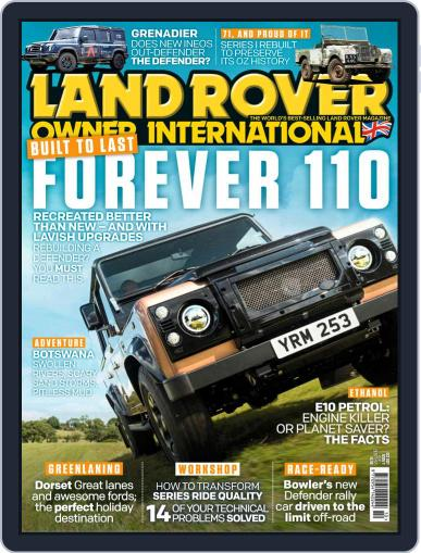 Land Rover Owner Magazine (Digital) October 1st, 2021 Issue Cover