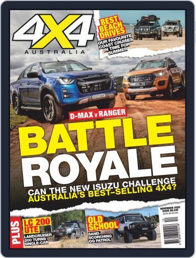 4x4 Magazine Australia Magazine (Digital) November 1st, 2020 Issue Cover