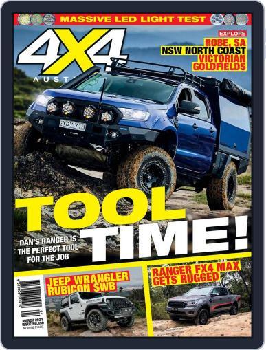 4x4 Magazine Australia Magazine (Digital) March 1st, 2021 Issue Cover