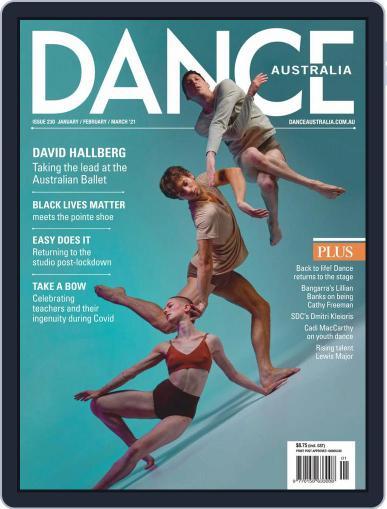 Dance Australia Magazine (Digital) January 1st, 2021 Issue Cover