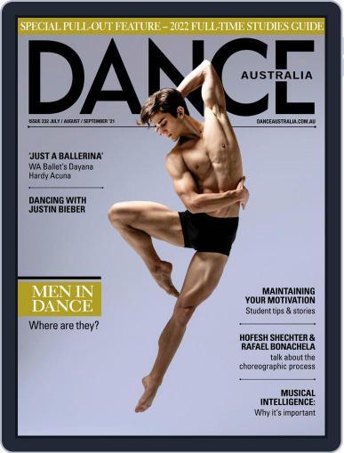 Dance Australia Magazine (Digital) July 1st, 2021 Issue Cover