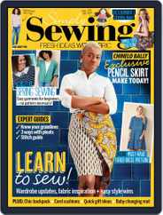 Simply Sewing Magazine (Digital) Subscription July 1st, 2021 Issue