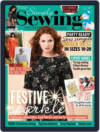 Simply Sewing Magazine (Digital) October 1st, 2021 Issue Cover